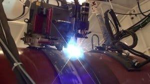 ما هي آلة لحام خط الأنابيب