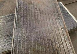 Plaque de carbure de chrome anti-impact moyen
