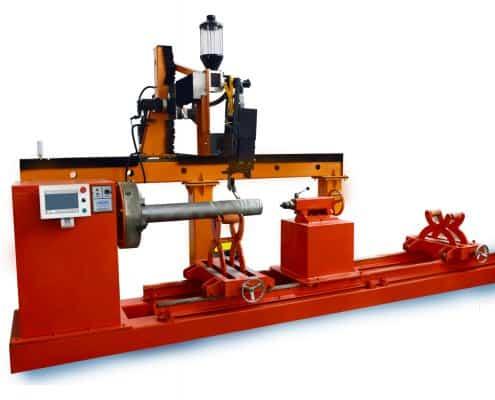 Gantry type laser cladding machine