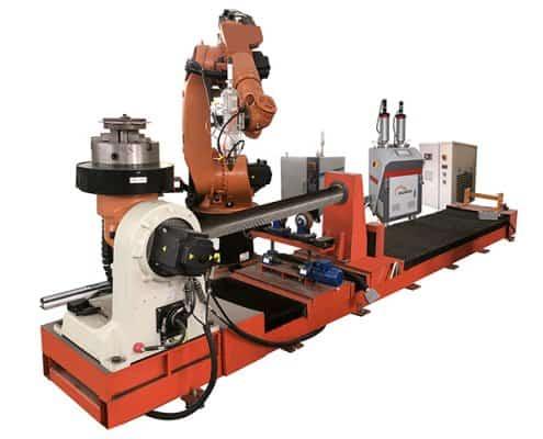 Robotic Slide Laser Cladding Machine